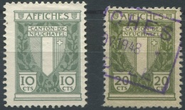1463 - NEUCHÂTEL - Fiskalmarken
