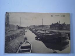 IZEGEM - ISEGHEM // De Vaart - Le Canal Met Binnenvaart (Schip) Niet Standaard // 19?? Ed Clovis Nonkel  RARE - Izegem