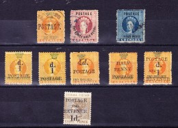 Grenada Lot Mit. SG# 22, 23, 27 Gestempelt Und SG#37, 38, 41, 43, 44, 46 * - Grenade (...-1974)