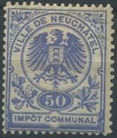 1465 - NEUCHÂTEL - Fiskalmarke - Fiscaux