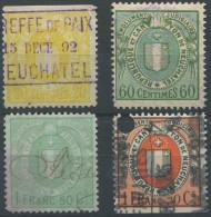 1467 - NEUCHÂTEL - Fiskalmarken - Fiscaux