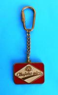 OZUJSKO BEER Croatian Old Keyring Bière Bier Cerveza Birra Keychain Key-ring Porte-clés Schlüsselring Anello Portachiavi - Other Collections