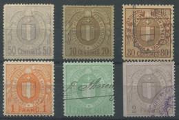 1468 - NEUCHÂTEL - Fiskalmarken - Steuermarken