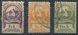 1472 - NEUCHÂTEL - Fiskalmarken - Steuermarken