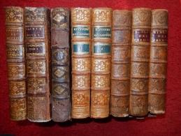LOT DE 8 RELIURES XVIII° FORMAT IN 4 - Books, Magazines, Comics
