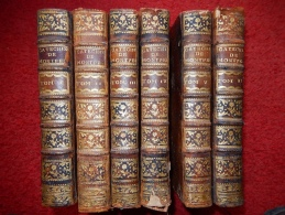 LOT DE 6 RELIURES XVIII° FORMAT IN 4 - Books, Magazines, Comics