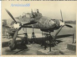 Luftwaffe - Avion - Messerschmitt Bf 110 Zerstörer - Aviazione