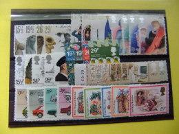 GRAN BRETAÑA GRANDE BRETAGNE 1982 COMPLETO Toute L'année Yvert Nº 1023 /1066 **MNH SG 1175 /1206 Voir Les Photos - Colecciones Completas
