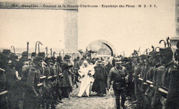 8652. CPA 38 ISERE DAUPHINE COUVENT DE LA GRANDE CHARTREUSE EXPULSION DES PERES - Autres Communes