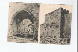 JERUSALEM 023 RUE DE LA VIEILLE VILLE ET LA PORTE DOREE - Israele
