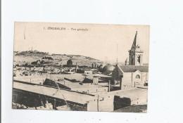 JERUSALEM 1 VUE GENERALE 1927 - Israele