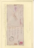 GUERRA CIVIL - RECORTADA - HERRERA DEL DUQUE BADAJOZ - 1931-50 Brieven