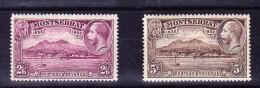 Karibik Montserrat 1932 SG#92* Und 93 * Höchste Werte - Non Classés