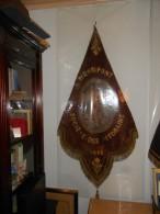 BRAINE-LE-COMTE  /HENRIPONT 1848   DRAPEAU   DE LA SOCIÉTÉ  DES AFFORAINS - Flags