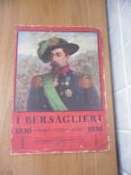 STAMPA I BERSAGLIERI GENERALE ALESSANDRO LA MARMORA - Historical Documents
