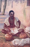 Inde, A Travelling Student And Singer (Oilette 9850b) - India
