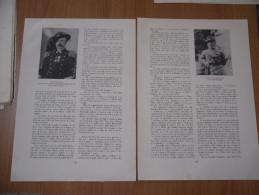 STAMPA I BERSAGLIERI I MARESCIALLI D'ITALIA EMILIO DE BONO GAETANO GIARDINO - Documents Historiques