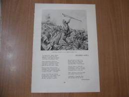 STAMPA I BERSAGLIERI MORTE DI ENRICO TOTI LEGGENDA ANTICA ARTURO SPIGAROLI ASSOCIAZIONE NAZIONALE BERSAGLIERI - Historical Documents