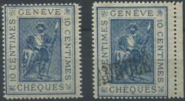 1476 - GENÈVE - Fiskalmarken