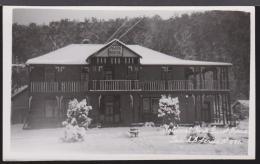 TASMANIA - A. B. Series - National Park Guest House Real Photo Postcard. Unused - Hobart