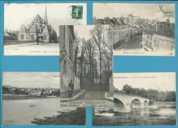 LOT 20 CPA CPSM - SEINE ET MARNE 77 - Cartes Postales