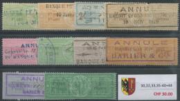 1483 - GENÈVE - Fiskalmarken - Steuermarken