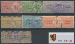 1484 - GENÈVE - Fiskalmarken