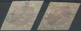 1486 - GENÈVE - Fiskalmarken