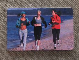 Germany, Deutschland, P I PD Serie, 3 Telefonkarten, 3 Phonecards, Jogging, Roller Skating, Skiing, Used - Sport