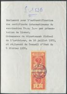 1490 - GENÈVE - Fiskalmarke Im Paar Auf Quittung - Steuermarken