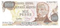 Argentina - Pick 304d - 1000 Pesos 1976 -1983 - Unc - Argentina