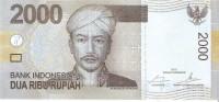 Indonesia - Pick 148 - 2000 Rupiah 2015 - Unc - Indonésie