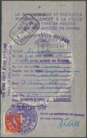 1493 - EIDGENOSSENSCHAFT - Fiskalmarke Auf Visa Seite - Steuermarken