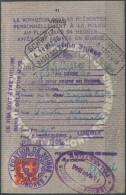 1495 - EIDGENOSSENSCHAFT - Fiskalmarke Auf Visa Seite - Fiscaux