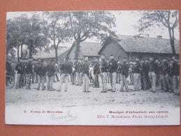 Beverloo Camp De Beverloo   Musique D4infanterie Aux Carrés Fanfare - Leopoldsburg (Camp De Beverloo)