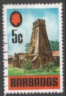 Barbados. 1970 Definitives. 5c Used. SG 403 - Barbados (1966-...)