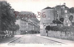 (39) Salins Les Bains - Tour Du Bourreau Et Rue De La République - 2 SCANS - Frankreich