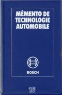 Livre Mémento Technologie Automobile BOSCH Première édition Livre Technique (386) - Auto