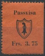 1501 - BASEL STADT - Fiskalmarke - Steuermarken