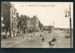 CPA - BERCK PLAGE - L'Esplanade Et La Digue, Animé - Berck