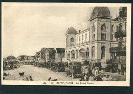 CPA - BERCK PLAGE - Le Grand Casino, Animé - Automobiles - Berck