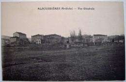 CPA Des Années 1920 - ALBOUSSIERE Une Vie Du Village - Editeur Serre à Valence - Comme Neuve - Lamastre, Tournon - France