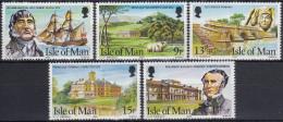Isla De Man 1980 Nº170/74 Nuevo - Isla De Man