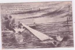 Grèce - Guerre Navale 1914-1917 - Torpillage Du Croiseur Italien - Guiseppe Garibaldi Par Un Sous-marin Autrichien - Griechenland