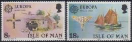 Isla De Man 1981 Nº182/83 Nuevo - Isla De Man