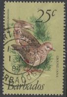 Barbados. 1979 Birds. 25c Used. SG 629 - Barbados (1966-...)