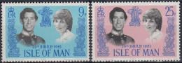 Isla De Man 1981 Nº189/90 Nuevo - Isla De Man