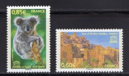 France 2007.Unesco.Koala Australi & Ksar D'Aït-Ben-Haddou Maroc - Frankreich