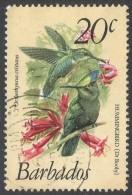Barbados. 1979 Birds. 20c Used. SG 628 - Barbados (1966-...)