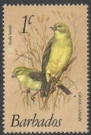 Barbados. 1979 Birds. 1c MNH. SG 622 - Barbados (1966-...)